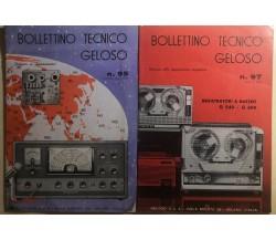 Bollettino tecnico geloso 95, 97 di Aa.vv.,  1965,  Geloso S.p.a.