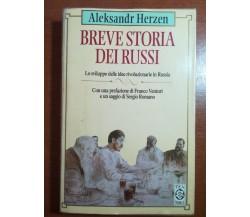 Breve storia dei Russi - Aleksandr Herzen - Tea - 1996- M