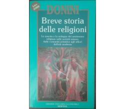 Breve storia delle religioni - Ambrogio Donini - Newton & Compton,1993 - A