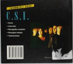 C. S. I. Frammenti rock - Giancarlo Susanna - Arcana - 1996 - G