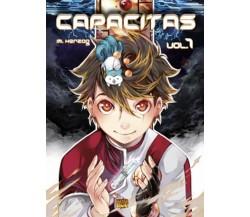 CAPACITAS 1 di Marika Herzog (autore),  Manga Senpai