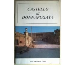 CASTELLO DI DONNAFUGATA - G. Zago e G. Leone - 1989 - L