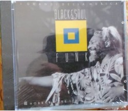 CD BLACK & SOUL FUNK compilation i grandi della musica editoriale
