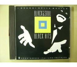 CD i grandi della musica  Black & Soul black hits  editoriale Diana Ross Jackson