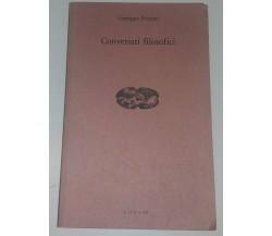CONVERSARI FILOSOFICI - GIUSEPPE PEZZINO - C.U.E.C.M. 1993 - M