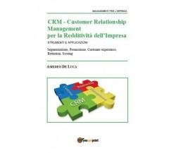 CRM – Customer Relationship Management per la Redditività dell'Impresa - ER