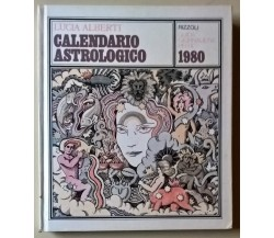 Calendario astrologico. Guida giornaliera per il 1980 - Lucia Alberti Rizzoli L