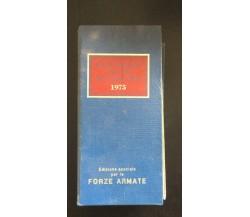 Calendario atlante de agostini 1975 - Autori Vari,  De Agostini - P