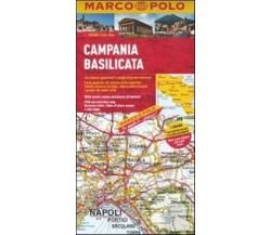 Campania, Basilicata 1:200.000. Ediz. multilingue, EDT, Marco Polo, 2011