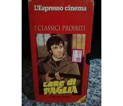 Cane di paglia - con Dustin Hoffman - vhs - 1971 - l'espresso cinema -F