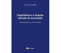 Capitalismo a doppia valvola di sicurezza  di Ermanno Cavallini,  2017 - ER