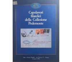 Capolavori filatelici della Collezione Pedemonte di Aa.vv., 1991, Bolaffi Aste A