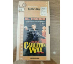Carlito's Way - B. De Palma - Corriere della Sera - 1993 -  VHS - AR