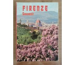 Cartoline Firenze Souvenir - AA. VV. - Giusti edizioni - 1990 - AR