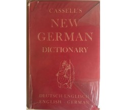 Cassell's New German Dictionary, 1965