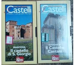 Castelli d'Italia e i più grandi d'Europa - Hobby & Work - VHS - R