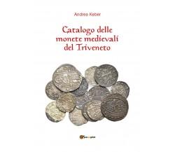 Catalogo delle monete medievali del Triveneto , di Andrea Keber,  2018