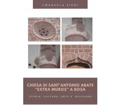 """Chiesa di Sant'Antonio Abate """"extra muros"""" a Bosa -Storia, cultura, arte e rest."""