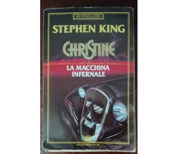 Christine. La macchina infernale - Stephen King - Oscar Mondadori,1997 - A
