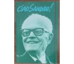 Ciao Sandro! - Angelo Molaioli -  Asse libri,1990 - A