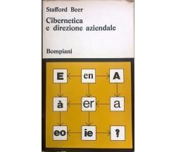 Cibernetica e direzione aziendale - Stafford Beer (1969,  Bompiani) Ca