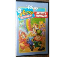 Cip&Ciop Agenti speciali Folletti e cioccolato - Disney - VHS - R