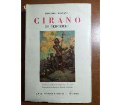 Cirano di bergerac - Edmondo Rostand - Bietti - 1952 - M