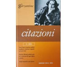 Citazioni Vol. 1 (Garzantine)  di Corriere Della Sera,  2006,  Rcs Quotidia - ER