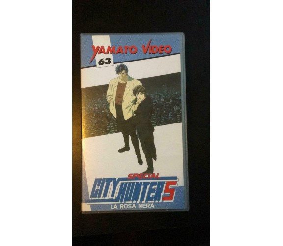 City Hunter Special 5, La rosa Nera - VHS -  Yamato Video , 1997 - P