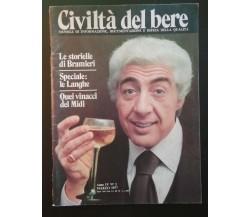 Civiltà del bere N°3 Marzo 1977 -  Autori Vari,  Isi - P