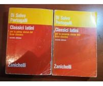 Classici Latini 2 vol. - Di salvo,Portogalli - Zanichelli - 1981- M