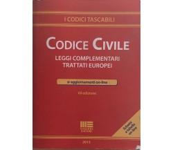 Codice civile di Aa.vv., 2015, Maggioli Editore