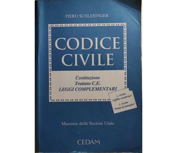 Codice civile di Piero Schlesinger, 2006, Cedam