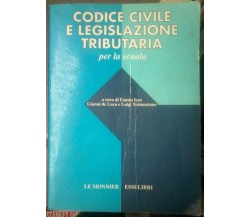 Codice civile e legislazione tributaria per la scuola - Le Monnier, 1993 - L