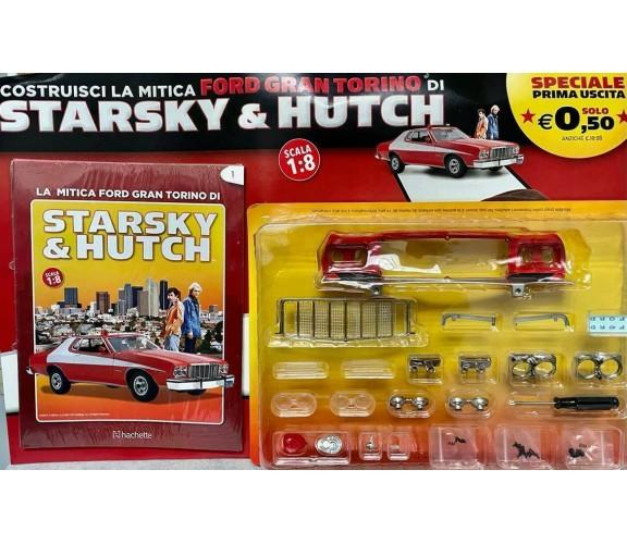 Collana Hachette Costruisci La Ford Gran Torino di Starsky e Hutch Uscita n 1