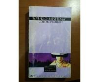 Colori proibiti - Yukio Mishima - Mondadori - 1989 - M