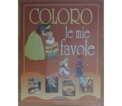 Coloro le mie favole - AA.VV. - Crescere edizioni,2011 - A