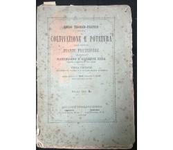 Coltivazione e potatura delle principali piante fruttifere, M. e G. Roda, 1869 L