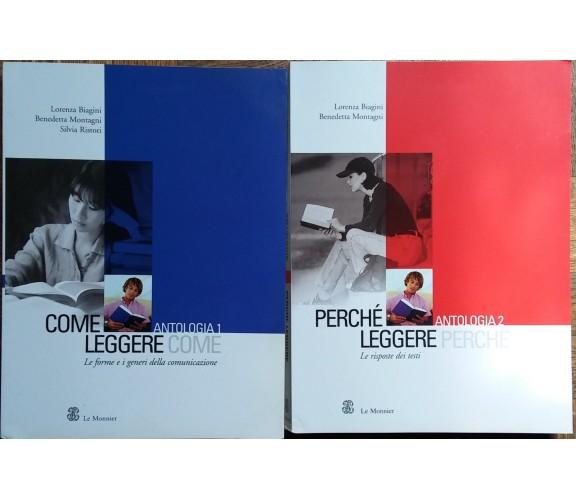 Come leggereVol.1;Perchè leggere Vol.2-AA.VV.-Le Monnier,2004-R