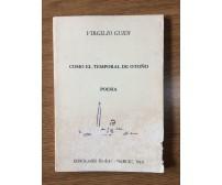 Como el temporal de otono - V. Guidi - Ediciones Essepi-Barcelona - AR