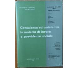 Compendio di Legislazione Sociale - Cimmino, Getici - Editrice Galeati,1960 - R