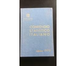 Compendio statistico italiano edizione 1979 - Vari,  1979,  Istituto Centrale -P