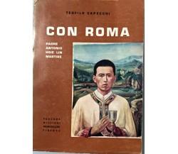 Con Roma Padre Antonio Hsie Lin Martire di Teofilo Capecchi, 1964, PMFF