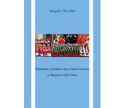 Conformità e difformità della Chiesa Cattolica al Progetto di Gesù Cristo, 2020