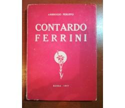 Contardo Ferrini - Ambrogio Peruffo - Roma - 1947 - M