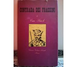 Contrada dei Frassini di Ciao Sciu -li,  1954,  Cultura Sociale-F