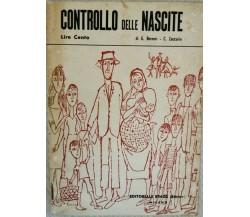 Controllo delle nascite  di G. Berneri, C. Zaccaria,  1955 - ER