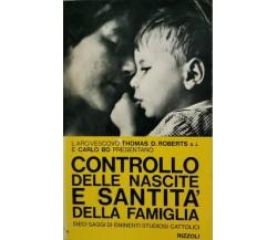 Controllo delle nascite e santità della famiglia,Thomas Roberts, Carlo Bo - ER