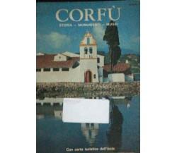 Corfù - Storia - Monumenti - Musei - Aa.vv. - 1982 - Ekdotike Athenos S.a. - lo