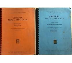 Corso di fisica applicata Vol.I-II di Aa.vv., 1992, Editore Ulrico Hoepli Milano